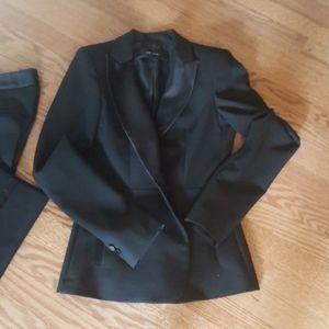 zara womens tuxefo suit